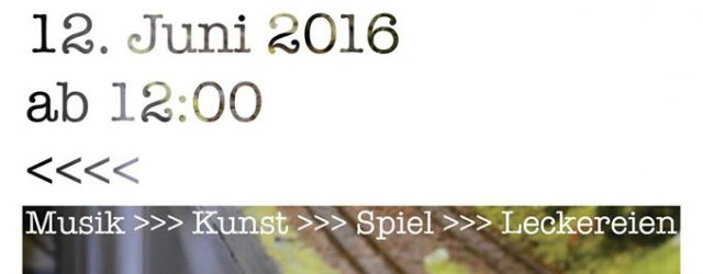 Netzwerk Bahnhof Langstadt - Bahnhofsfest 2016