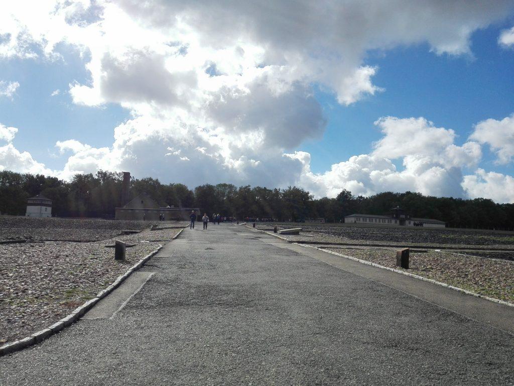 Buchenwald - Lagergelände